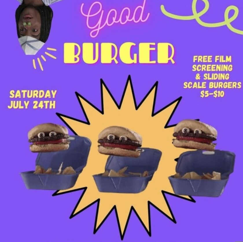 """Good Burger"" at the Diversity Center of Santa Cruz"
