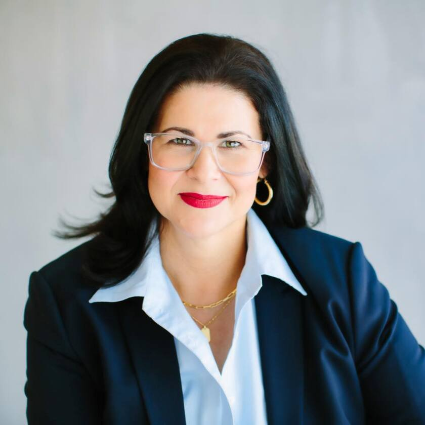 Ada Briceño, chairperson of the Democratic Party of Orange County