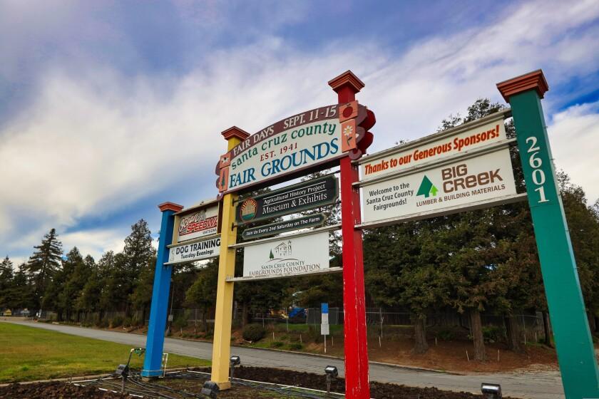 The Santa Cruz County Fairgrounds.