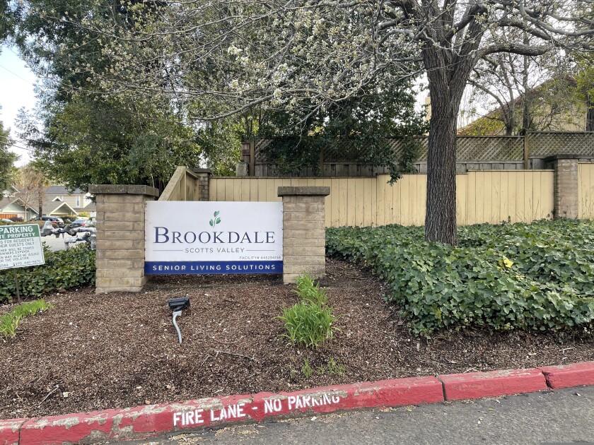 The Brookdale Senior Living Community in Scotts Valley.