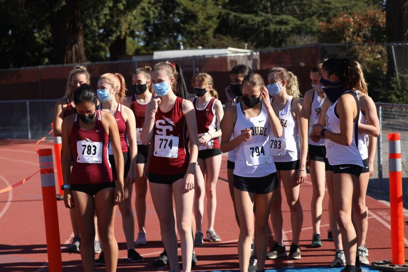 The Santa Cruz and Soquel High cross country teams get back to action.