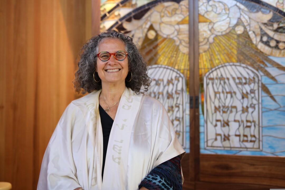 Rabbi Paula Marcus.