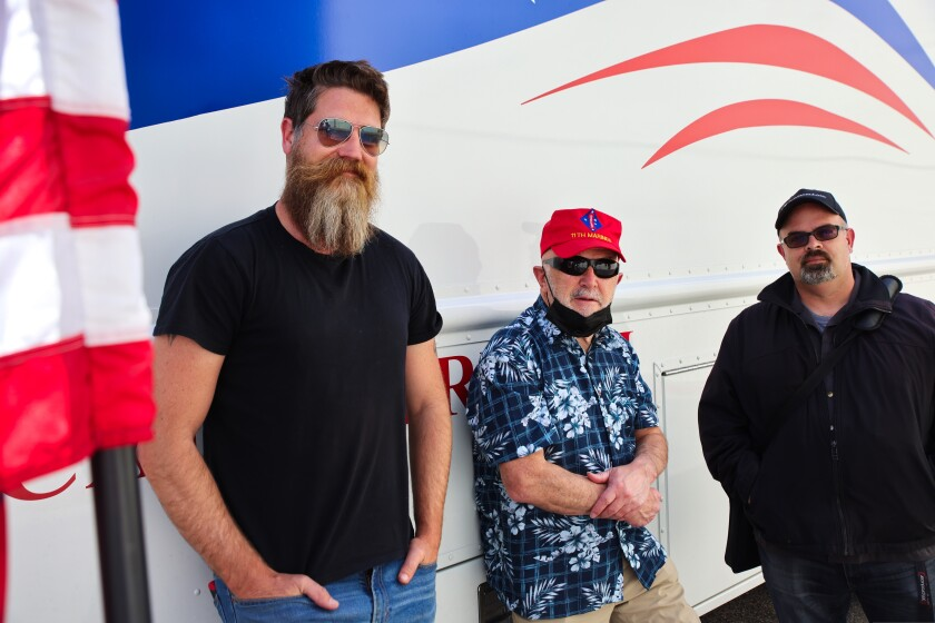 From left to right: veterans