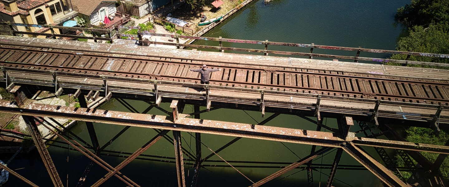 Nick Sherman has returned home to open Trestle's, just below the classic Capitola train trestle, this summer.
