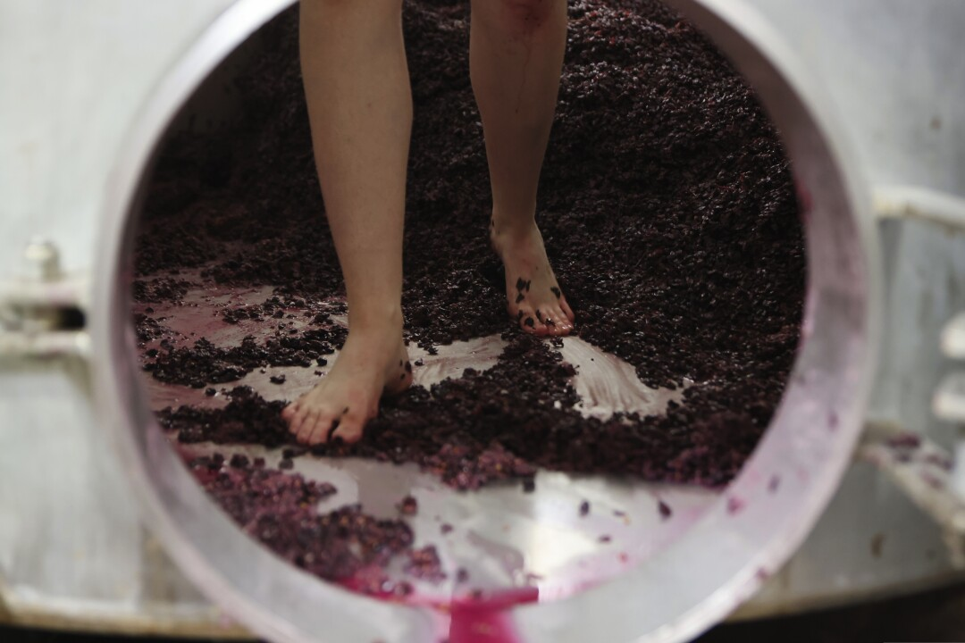 Getting dirty can also be very productive when it comes to wine.