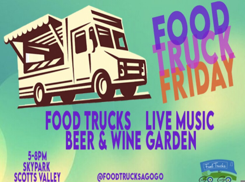 A flyer for Food Truck Friday