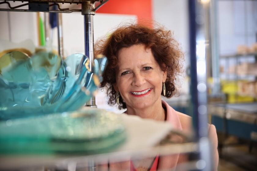 Ann Morhauser at Annieglass.