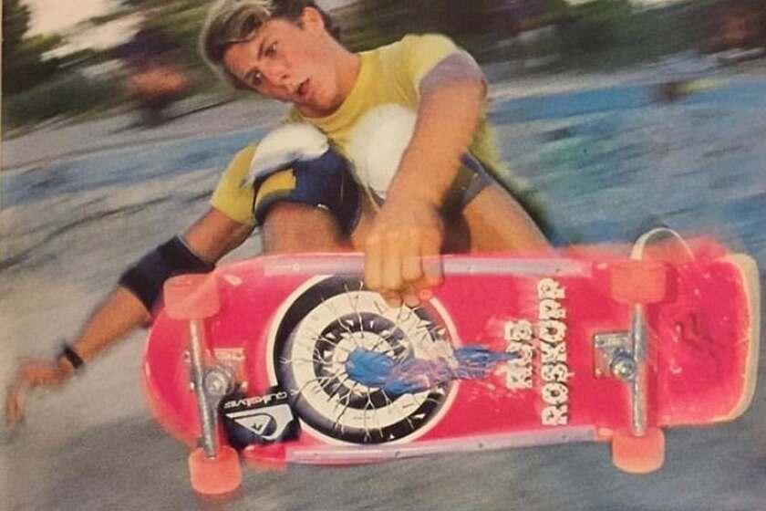 boy skateboarding photo
