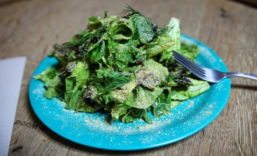 Avocado Green Goddess Salad at Rustic Ales Kitchen