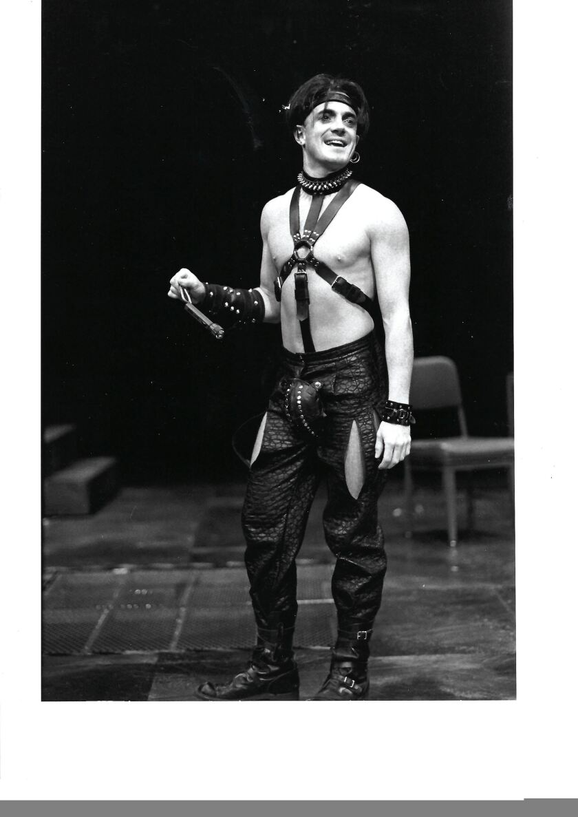 Danny Scheie in his heyday: Acting in 1995's S/M-style 'Measure for Measure'