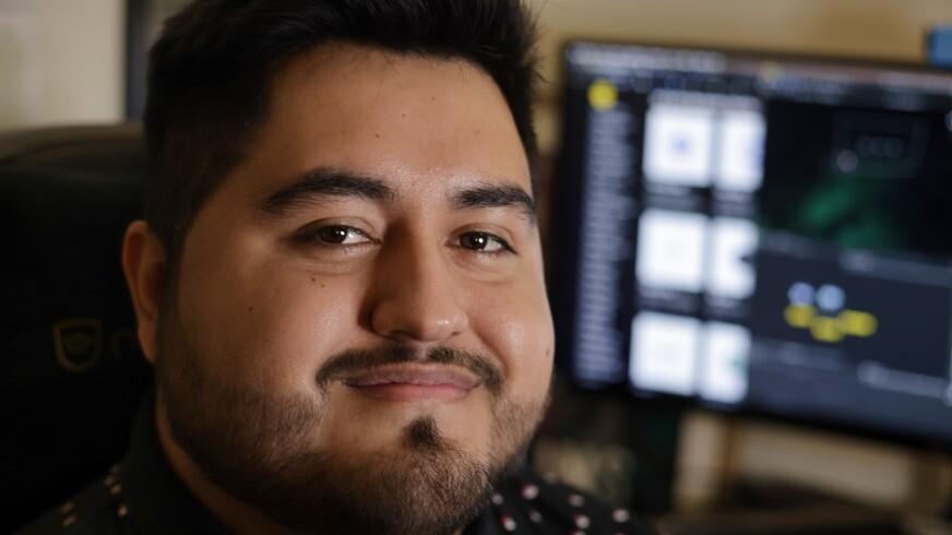 Juan Morales-Rocha helped lay the groundwork for a project seeking to bridge Santa Cruz County's digital divide.