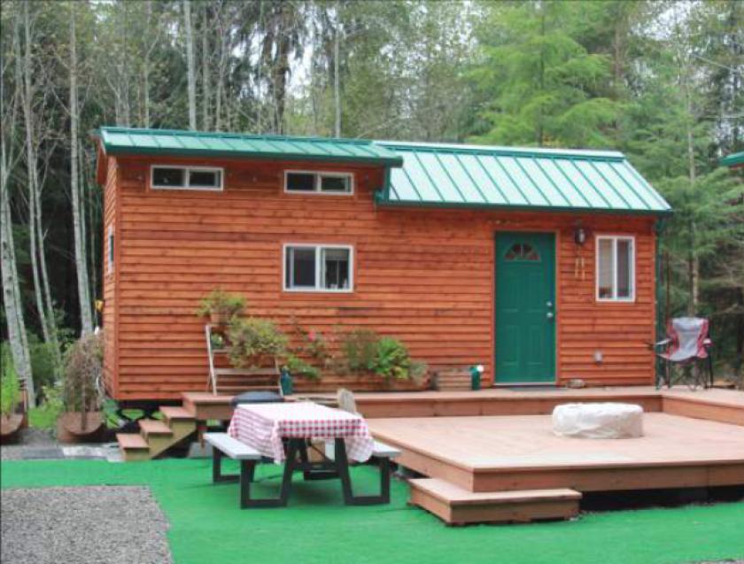 A tiny house.
