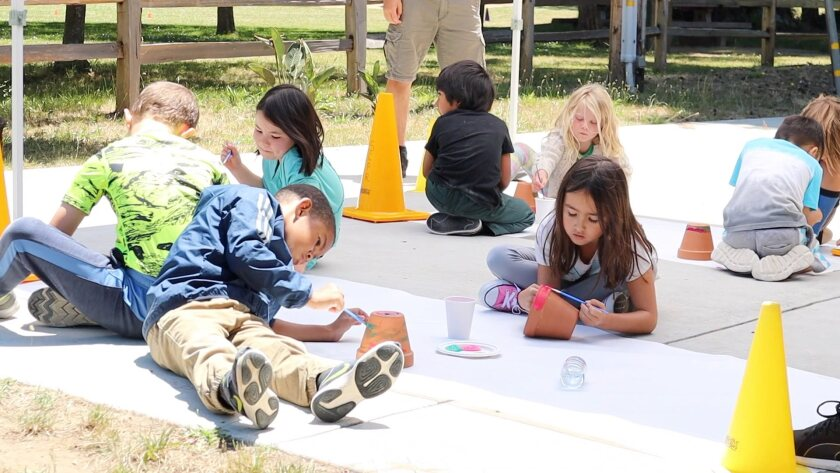 Arts and crafts programs are among the kids' offerings by the Santa Cruz parks system this summer.