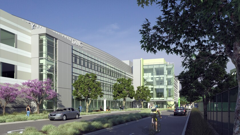 An artist rendering of the proposed 5940 Soquel Ave. Kaiser Permanente medical building project.