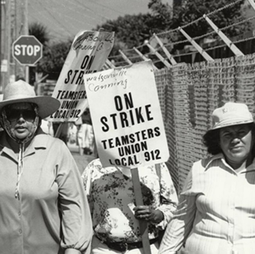 Canning Strike. Courtesy Special Collections, University Library, UC Santa Cruz
