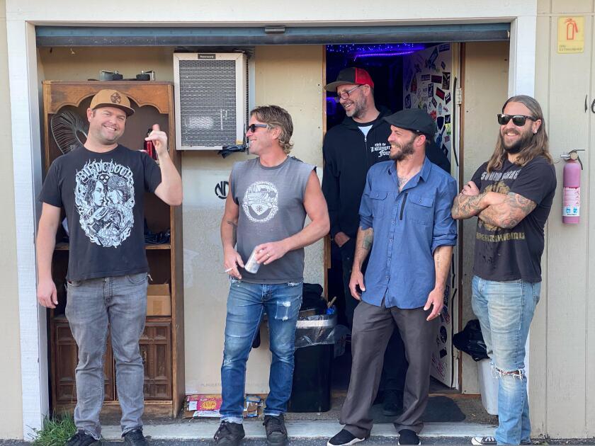 Santa Cruz band Thanks Buddy