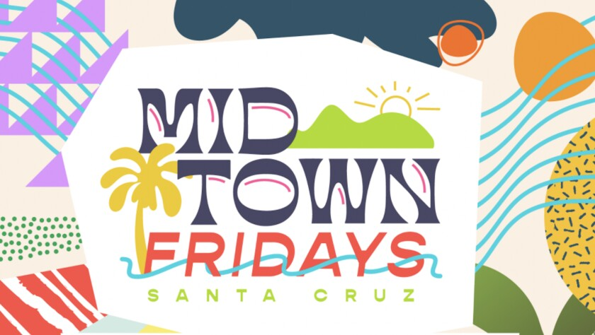 A promotional flyer for Midtown Fridays