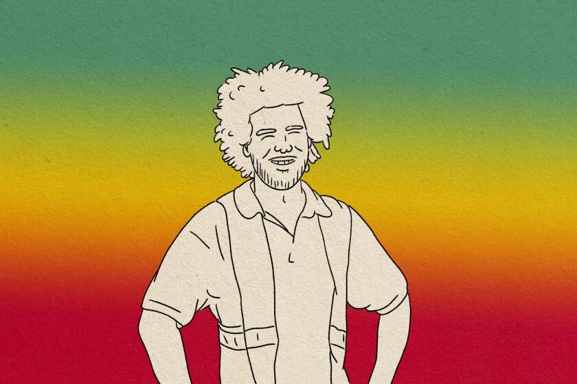 illustration of man wearing saftey vest