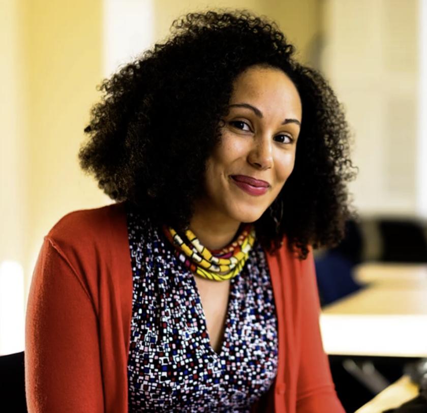 UCSC sociologist Camilla Hawthorne.