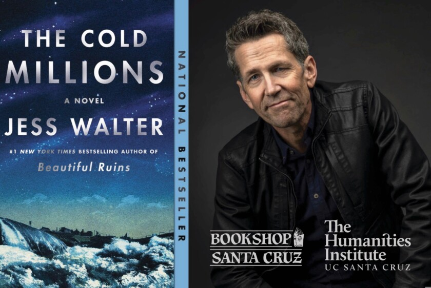 """Author Jess Walter and his book """"The Cold Millions"""""""