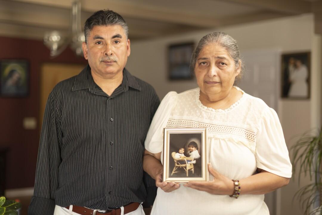 Gerardo Murillo and Teresa Jimenez.