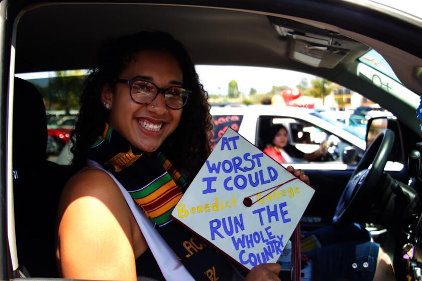 Rashonda Rhodes, 2020 Santa Cruz High grad.