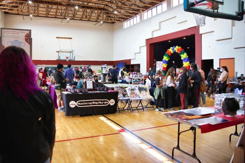Nerdville took over the youth center in Watsonville on Sunday.