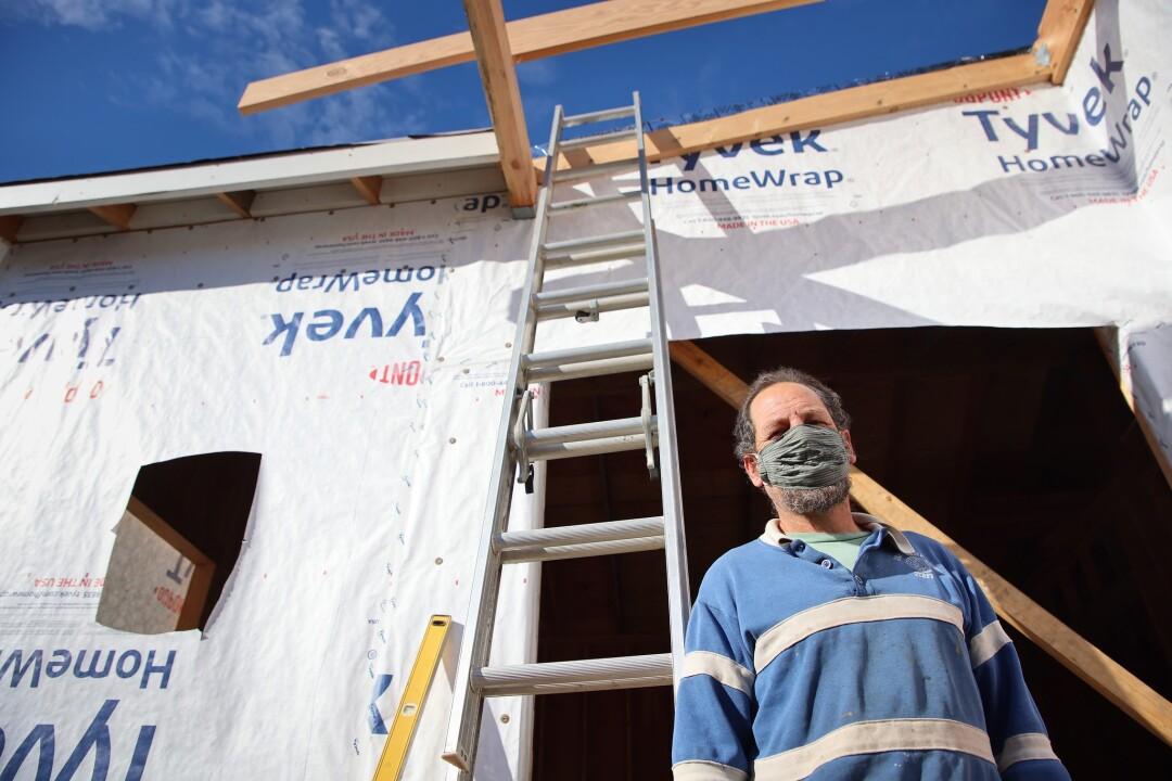 Micah Posner is building a 750 square foot ADU in Santa Cruz.