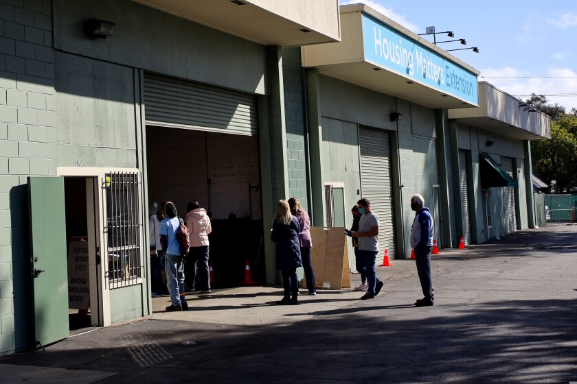 Vaccine clinic held for Santa Cruz County homeless population on Tuesday, March 16, 2021.