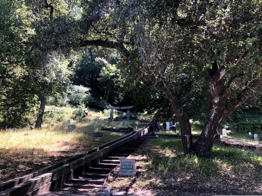 Evergreen Cemetery in Santa Cruz.