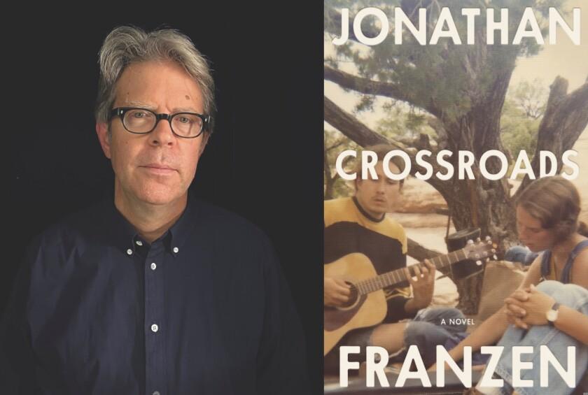 "Jonathan Franzen and his new novel, ""Crossroads"""