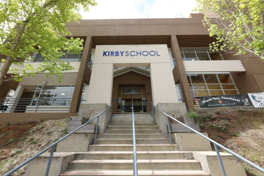 Kirby School, in Santa Cruz, is often ranked as the top private school in the county.