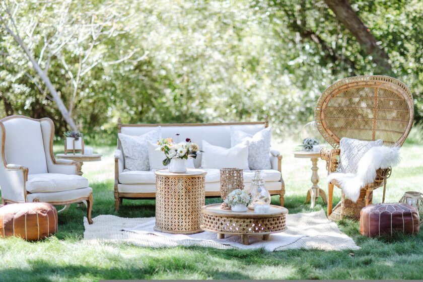 Big Sur Wedding lounge area