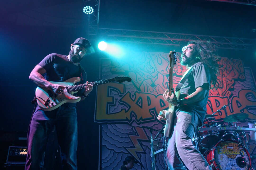 When will packed shows by favorite local bands like The Expendables, shown here at the Catalyst in 2019, return?