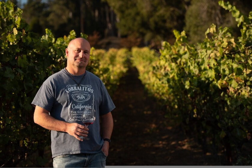 John Benedetti of Sante Arcangeli Family Wines is making the most of a bad year.