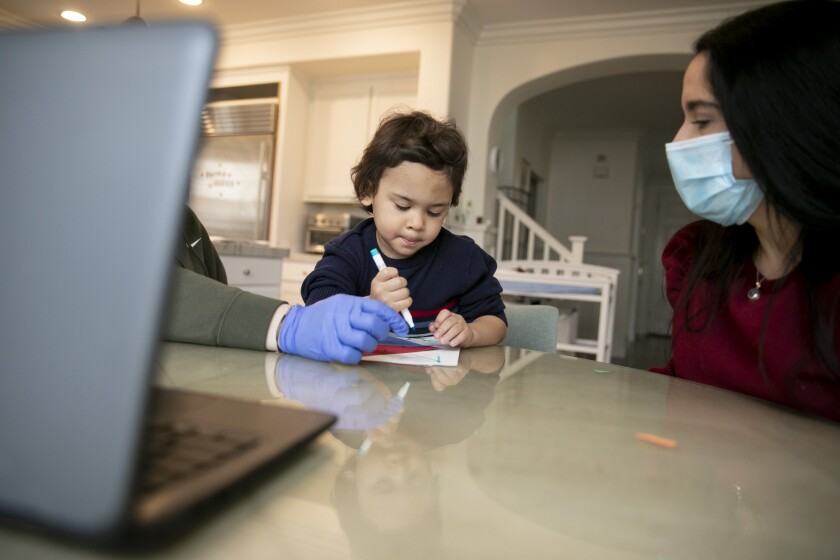 California's special-needs students face special challenges during the pandemic.