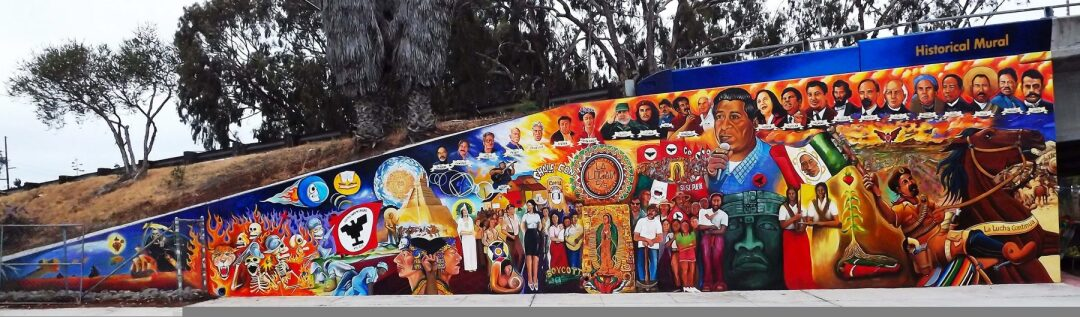 Historical Mural/Chicano Park, by Guillermo Aranda.