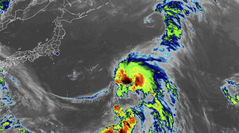 As Tropical Storm Nepartak bears down on Japan, surfers give thanks.