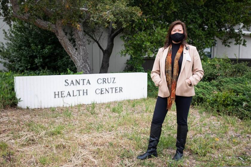 Santa Cruz County health services director Mimi Hall