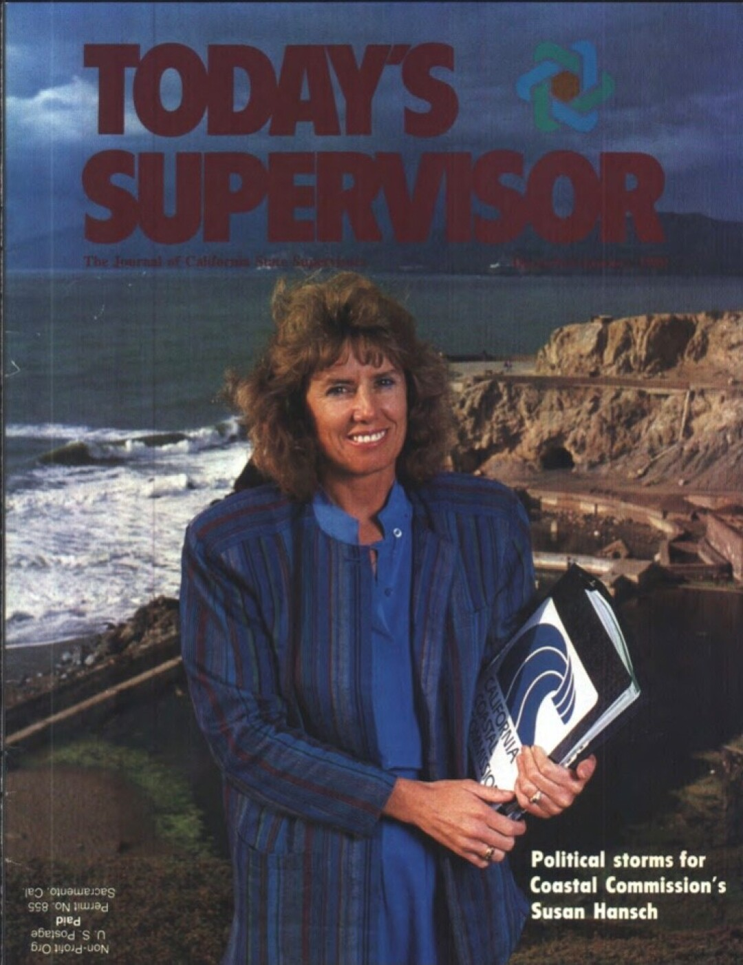 Susan Hansch was featured in an 1988 issue of a journal published by the Assn. of California State Supervisors.