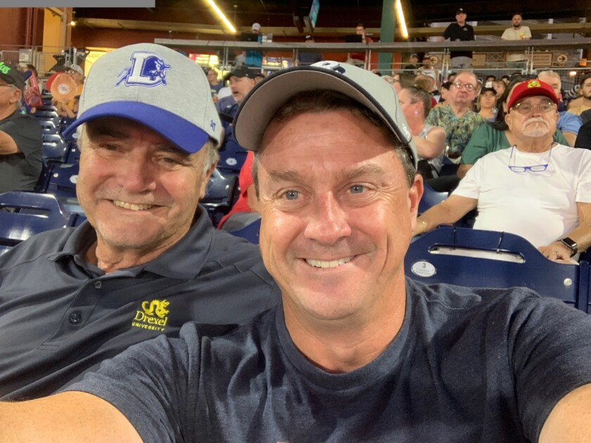 Greg and Dan Evans hit the minor league ballpark road back east and kept on driving.