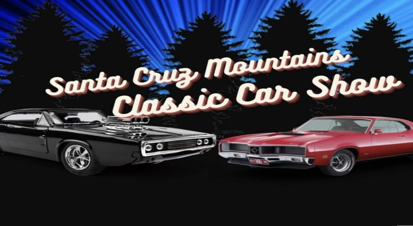Promo for Santa Cruz Mountains Classic Car Show