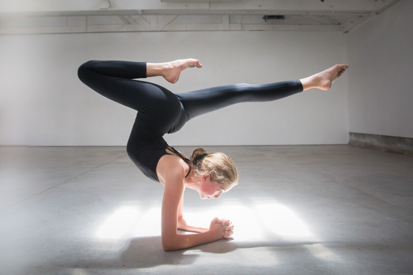 A Crystal Birns photograph of a young dancer