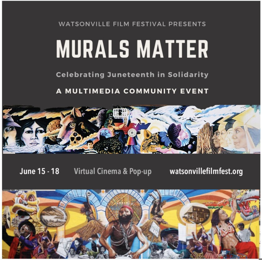 Murals are the focus of a Watsonville Film Festival virtual event.