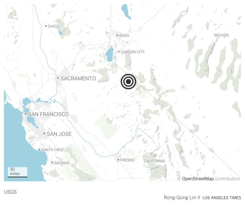 Antelope Valley fault earthquake