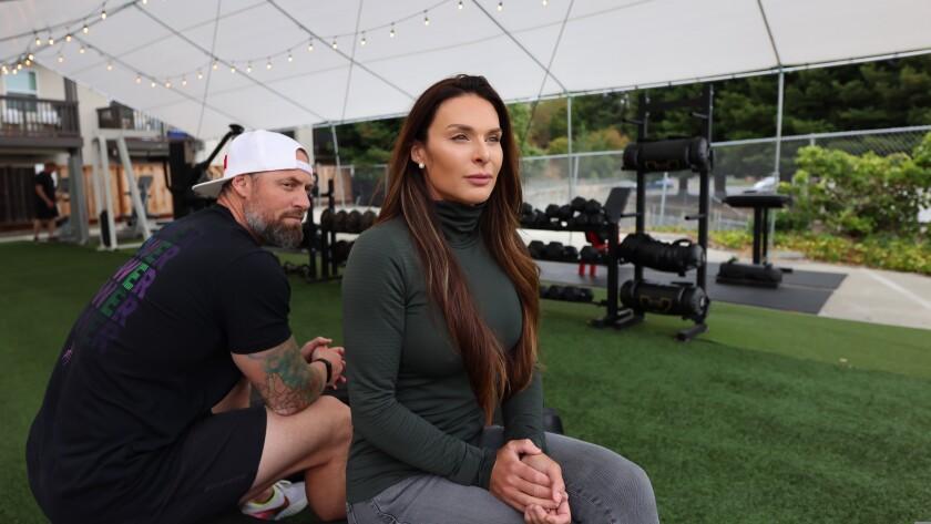 Santa Cruz Power Fitness owners Chris Ellis and Camile Periat