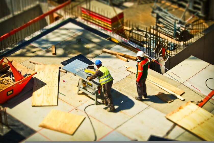 File image of construction site