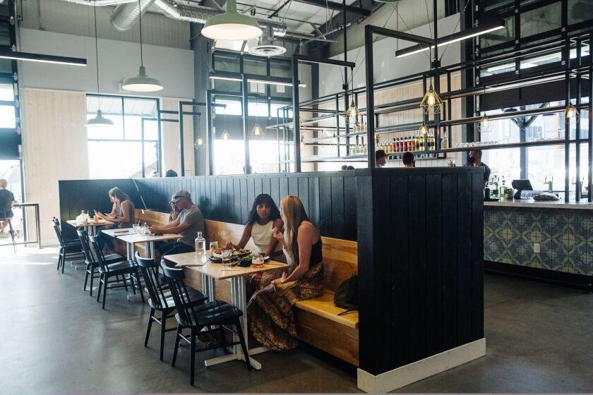 Indoor diners have returned to Venus Spirits in Santa Cruz and other restaurants.