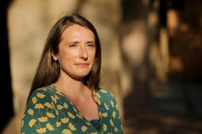 Mia McIver, an adjunct professor of 20th-century literature at UCLA.