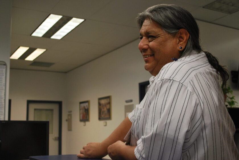 Ricardo Torres, the secretary of the board for the Sacramento Native American Health Center, has helped to mask or vaccinate thousands of Native Americans in the Sacramento area. Photo provided by Ricardo Torres
